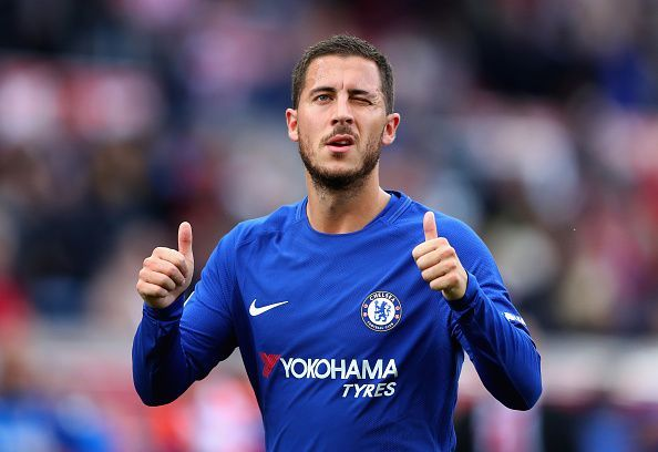 Eden Hazard has been linked with a move away from Chelsea in the recent weeks