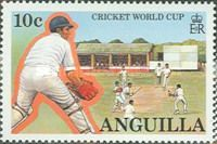 Stamp on 1987 World cup.