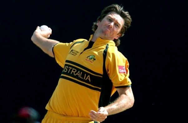 Glenn McGrath played an important role in Australia