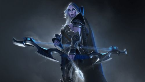 The Queen of Patch 7.21. In other words, the Drow Ranger