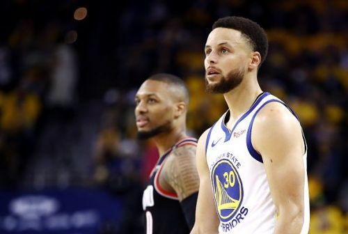 Steph Curry completely dominated the Blazers in Game 1 of the Western Conference Finals