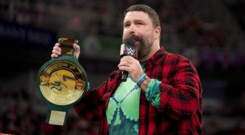 24/7 hard core championship with announced Mick Foley