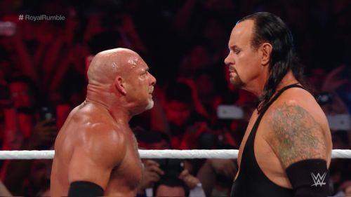 Goldberg and The Undertaker