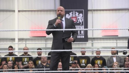Triple H could lead WWE to victory