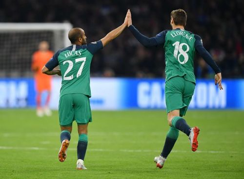The introduction of Fernando Llorente (right) changed the game in Spurs' favour
