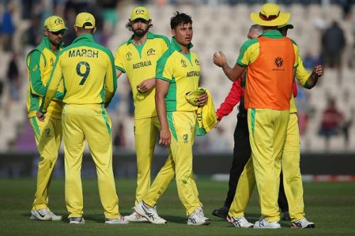 Australia beat England in their first warm-up match