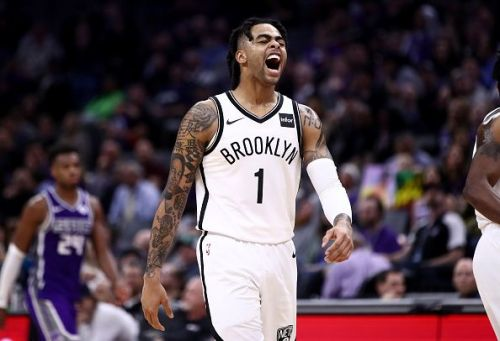 The Utah Jazz have been backed to make a move for D'Angelo Russell this summer