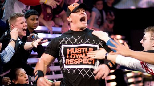 Cena had to miss several months of action due to an injury, before returning at the 2008 Royal Rumble.