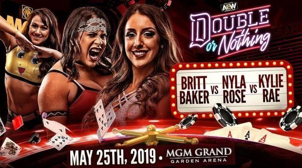 Britt Baker vs. Kylie Rae vs. Nyla Rose