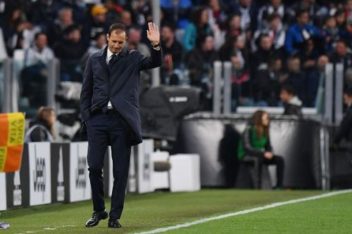 Allegri has departed the Old Lady