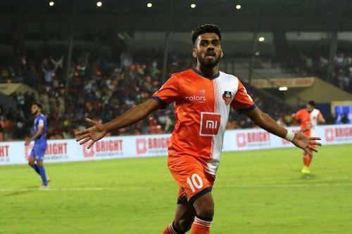 Brandon Fernandes of FC Goa had a breakthrough season this year