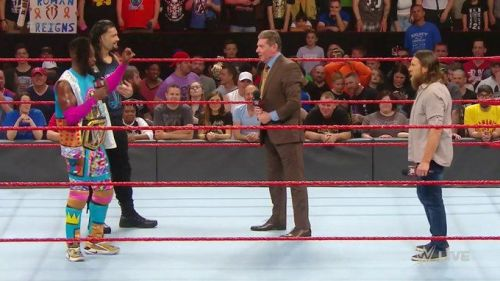 Reigns, Kingston, and Bryan gave the Chairman an interesting idea