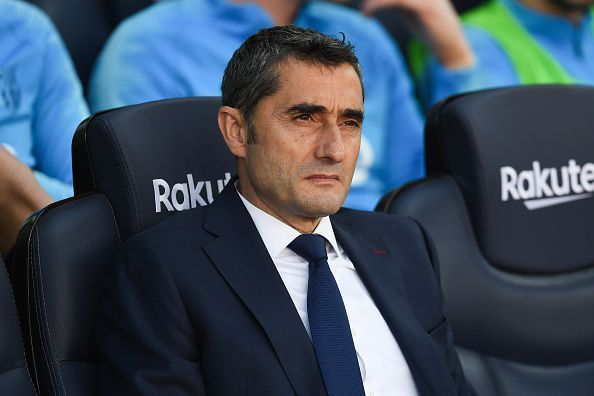 Valverde is under serious pressure right now
