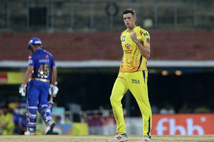 Santner played four games for CSK in IPL 2019