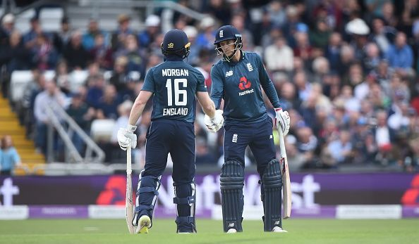 Root and Morgan scored brilliant fifty
