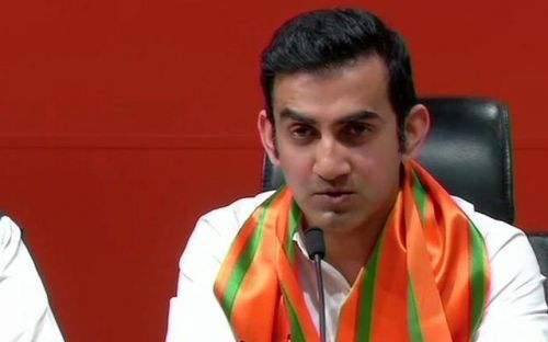 Gautam Gambhir is making his debut as a politician with Lok Sabha elections 2019 (Image Courtesy: Indian Express)