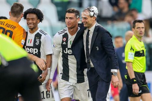 Cristiano Ronaldo and Max Allegri could reunite at PSG