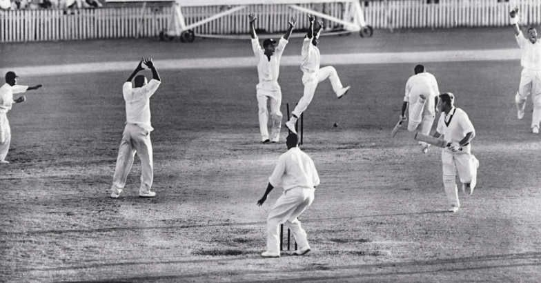 The tied Test - Australia vs West Indies, Brisbane, December 1960