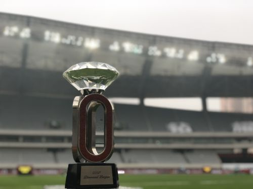 The Diamond Trophy in Shanghai. Photo: Matthew Quine