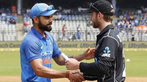 भारत vs न्यूजीलैंड, अभ्यास मैच