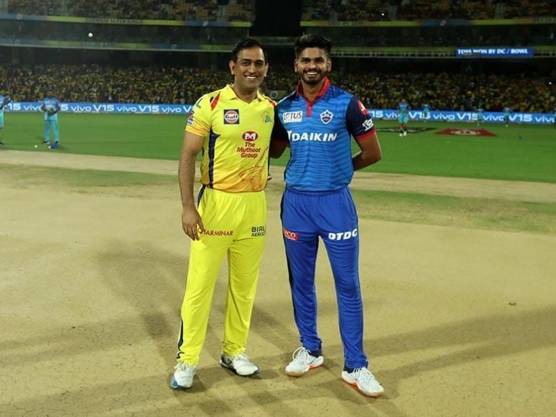 MSD-led CSK take on a confident DC captained by Shreyas Iyer (Credits: BCCI/ IPLT20.com)