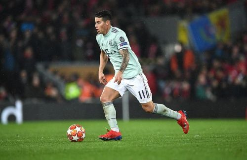 James Rodriguez could be swapping places with Dybala this c
