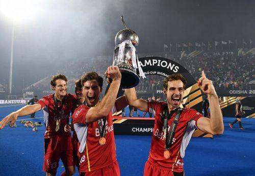 Belgium v Netherlands - FIH Men's Hockey World Cup: Final