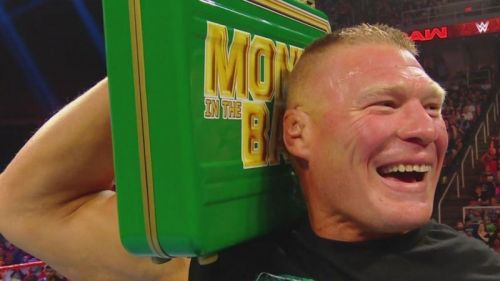 Brock Lesnar can cash-in at any moment