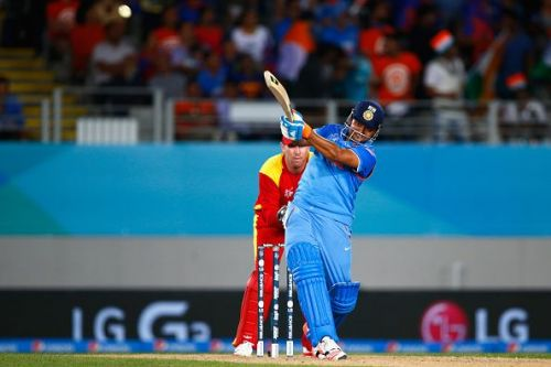 Raina scored a fantastic century against Zimbabwe