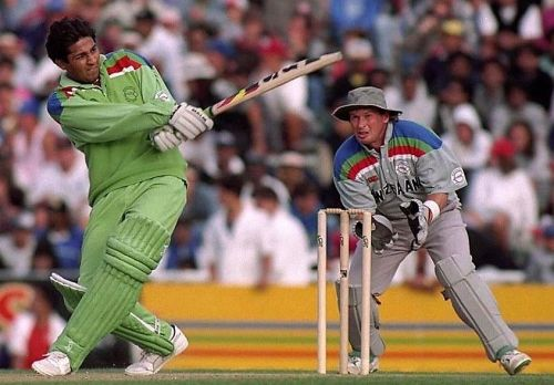 Pakistan stormed into the final riding on young Inzamam-ul-Haq's blitzkrieg.