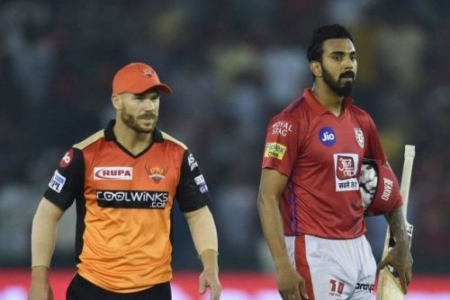 He picked KL Rahul and David Warner as the openers for the team