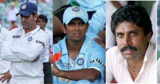 Even venerated captains like Dravid, Kapil and Dhoni had to endure some forgettable moments
