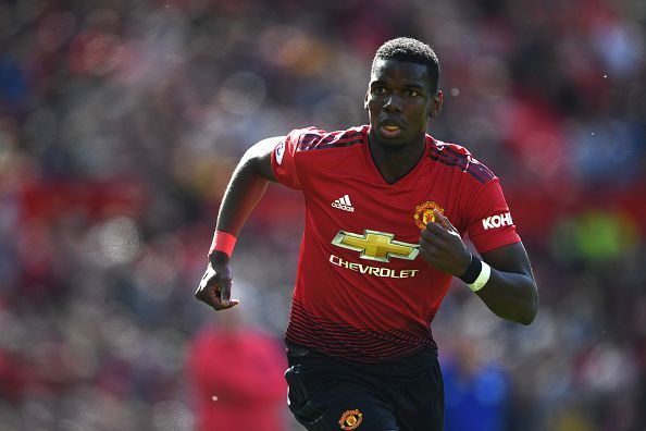 Paul Pogba's future at Manchester United is precarious at the moment