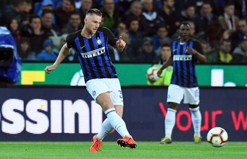 Internazionale defender Skriniar could be a potential target for Barcelona.
