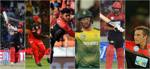 From left to right: Dube, Nath, Prayas Ray Barman, Klaasen, Grandhomme, and Southee