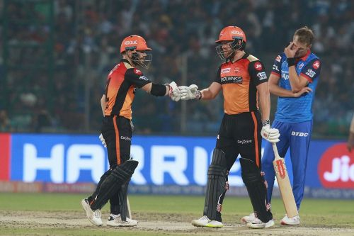 Warner and Bairstow had excellent seasons, but inconsistency from the rest didn't help.(Photo courtesy of IPLT20/BCCI)