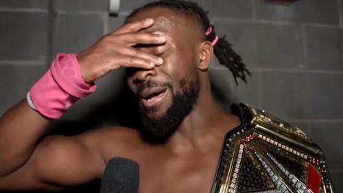 Kofi Kingston won the WWE Championship at WrestleMania 35