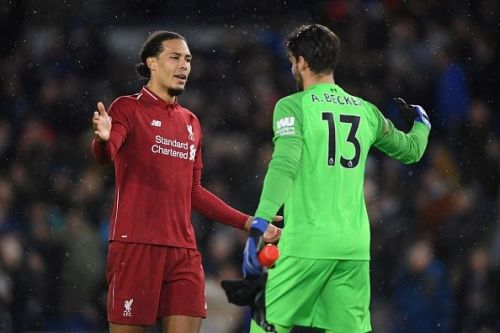 Virgil van Dijk and Alisson have been immense for Liverpool this season.