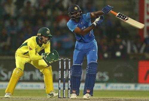 Vijay Shankar: India v Australia - ODI Series: Game 5