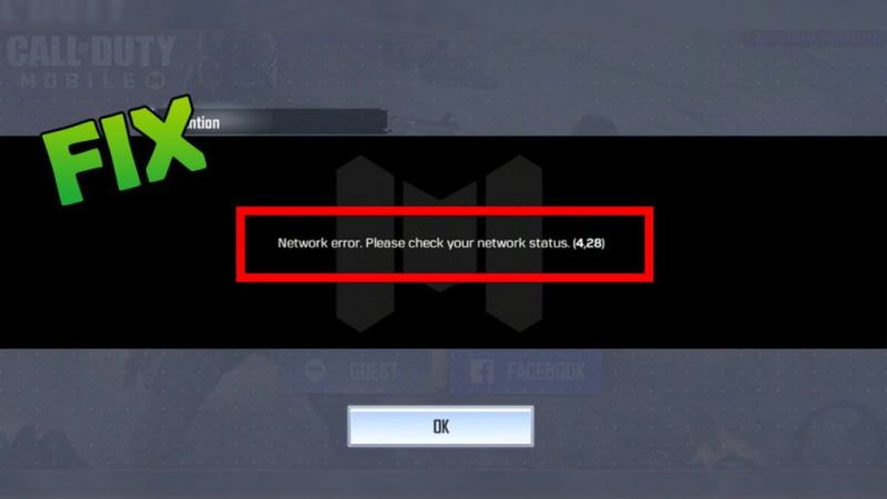 call of duty server error
