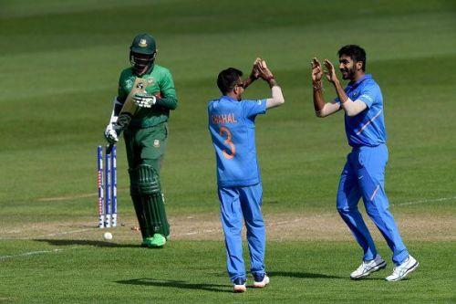 Chahal picks 3 wickets