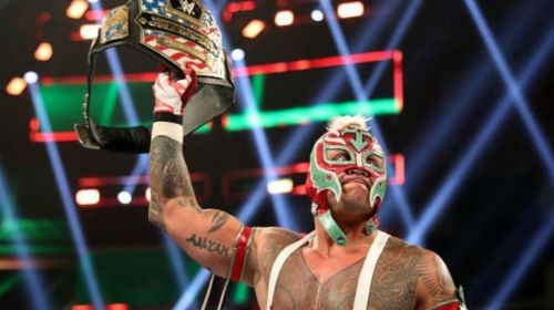 The End of Mysterio's U.S Title Reign