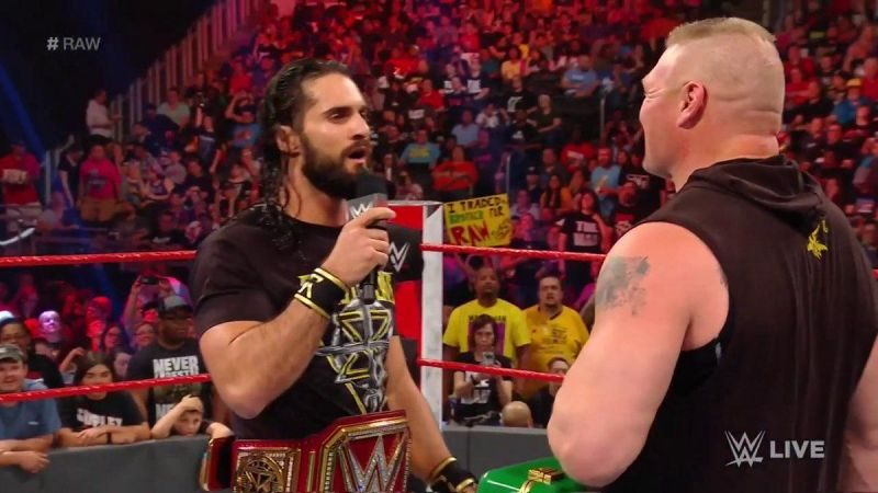 Seth Rollins messed up his lines on Raw