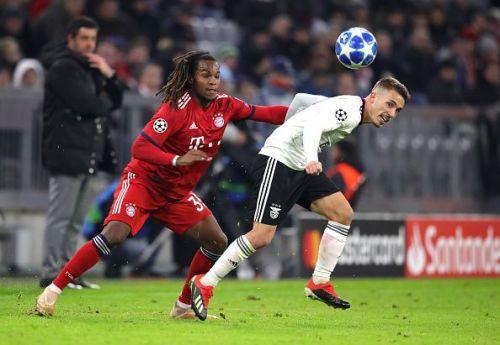 Renato Sanches struggled after making a big move to Bayern Munich at a similar age to Sancho