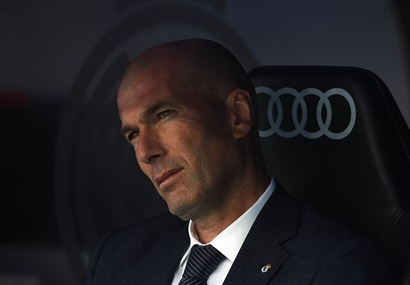 Zinedine Zidane is not pleased with the state of affairs at Real Madrid