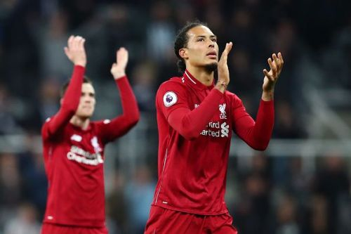 Van Dijk bossed the Premier League this season