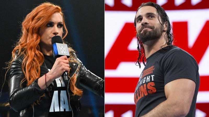 Becky Lynch and Seth Rollins are officially together