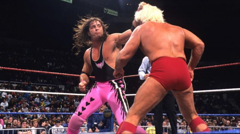 Though he was the Excellence of Execution, Bret Hart struggled to draw a crowd after winning the WWF title from Ric Flair.
