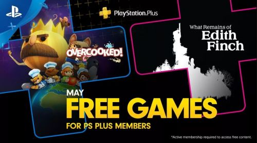 PS Plus for May