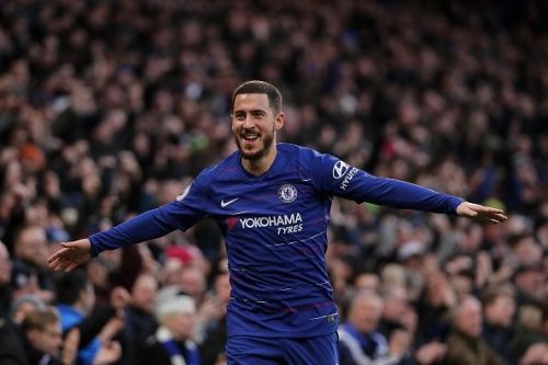 Chelsea's Eden Hazard has the most assists for the 2018/19 campaign
